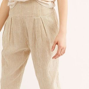 Free People See You Again Smocked Beach Pants
